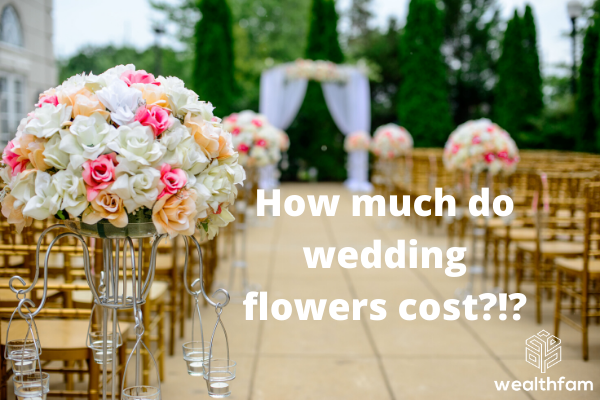 wedding flowers cost