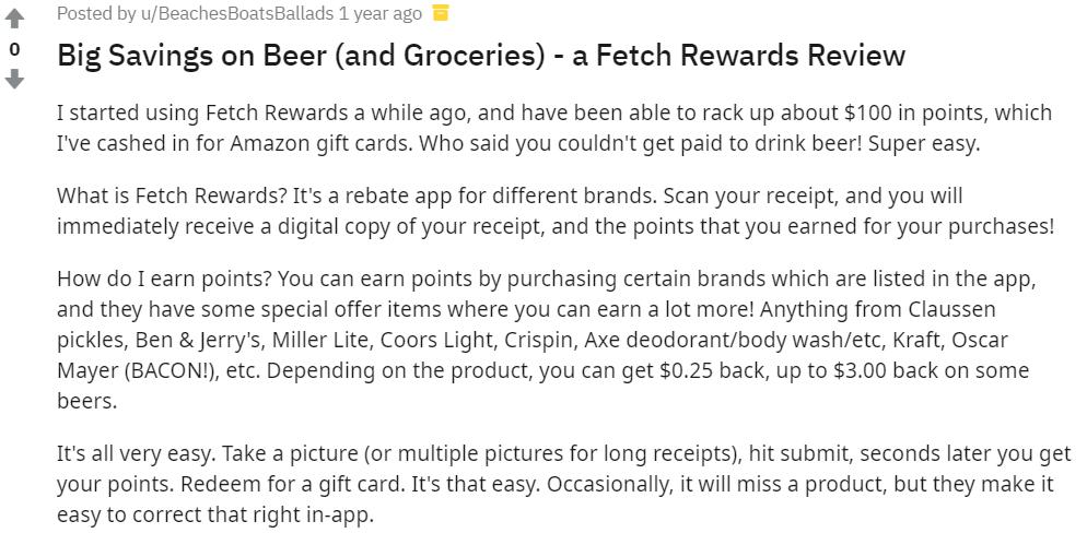 Fetch-Rewards-Review