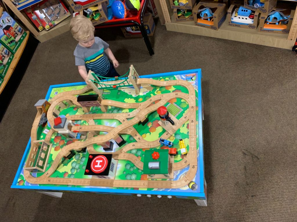 train set toy for 2 year old boy