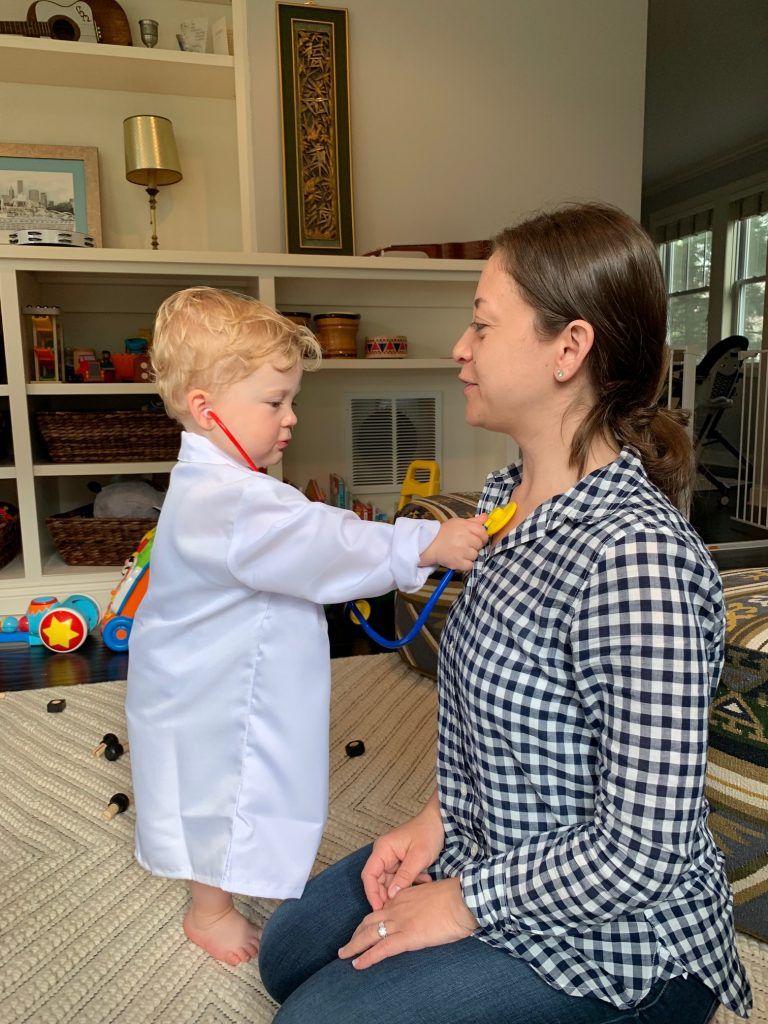 doctor costume for toddler