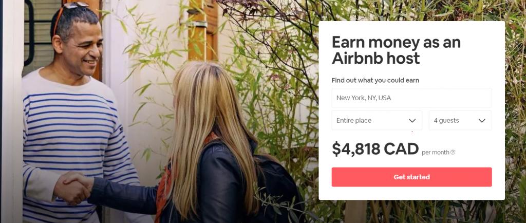 Airbnb-calculator best money making apps