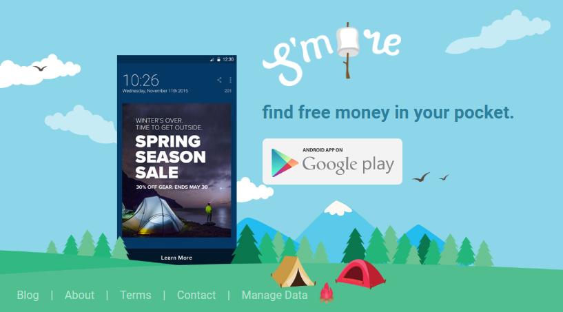Smore-lockscreen-app that pays you